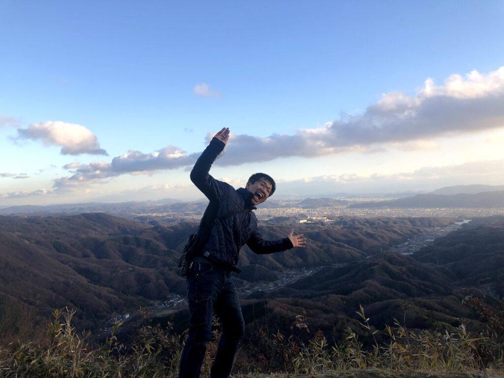 社長のつぶやき/蛇円山登りました!